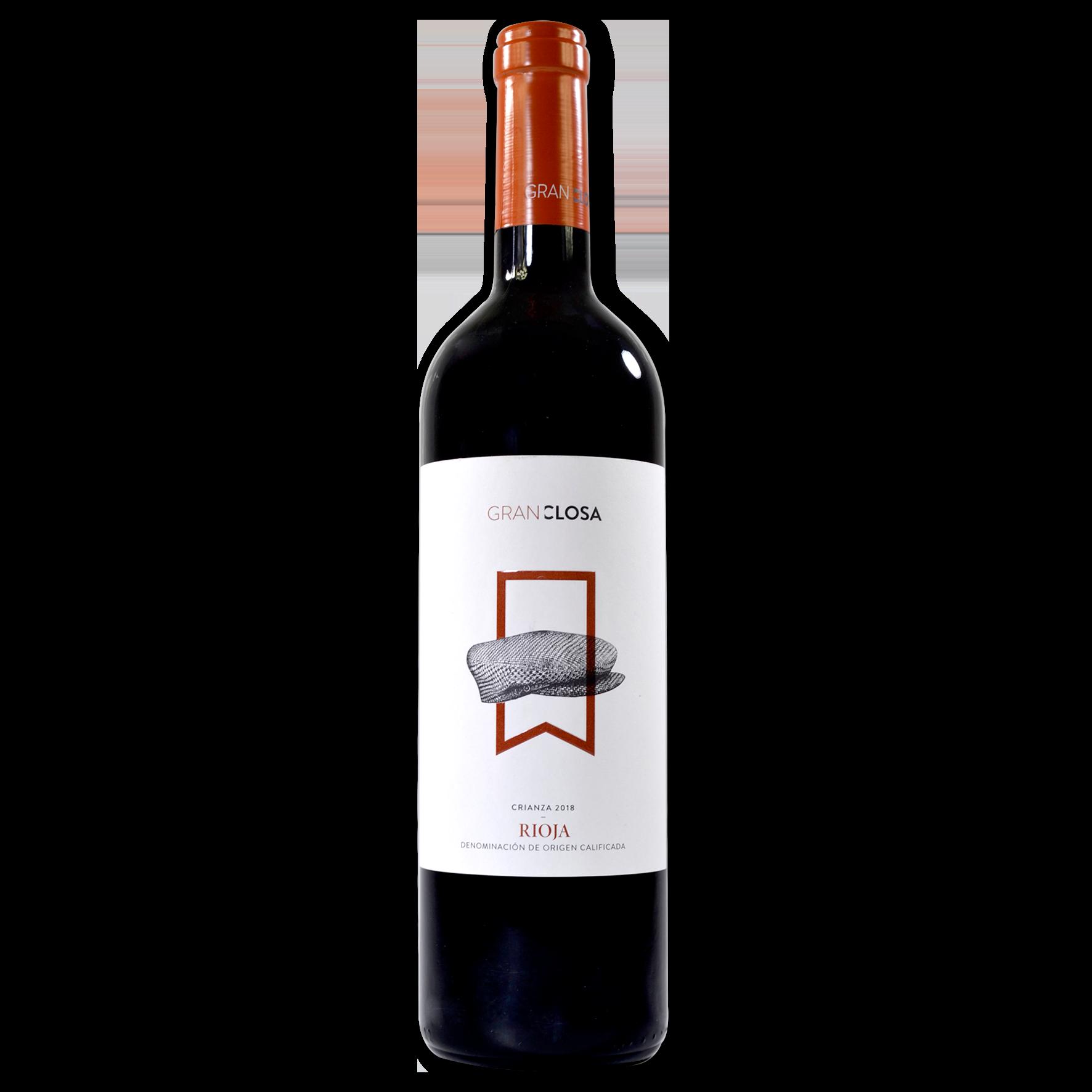 Vino tinto crianza Gran Closa DOC Rioja