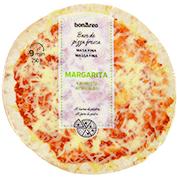 Pizza margarita massa fina
